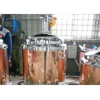 Best 100L Commercial Beer Brewing Equipment , Copper Brewery Equipment wholesale