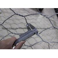 Buy cheap Heavily Zinc Galvanised Wire Wire Cages For Rocks , Permeable Structures Gabion Wall Cages from wholesalers