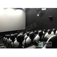 Best Customize Seats 5D Theater System Leather And Fiberglass Material wholesale