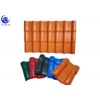 Best Easy Installation Synthetic Terracotta PVC Roofing Sheet Synthetic Resin PVC Plastic Roof Tile wholesale