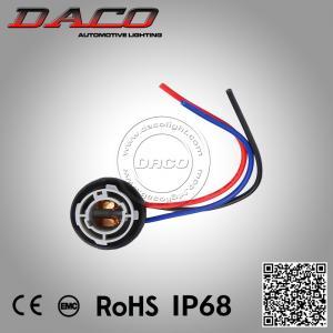 Best 1157 Led Bulb Lamp Holder Harness Plug Connector Wiring Extension Brake Lights Socke wholesale