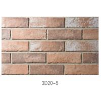Best 3D20-5 Ancient Thin Clay Brick For Outside Wall Installation Easily wholesale