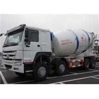 Best HOWO 8X4 12M3 Ready Mix Concrete Truck 12 Cubic Meters With Mixer Drum wholesale