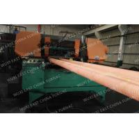 Best 100mm Red Copper Pipes Continuous Casting Plant , Horizontal Casting Machine wholesale