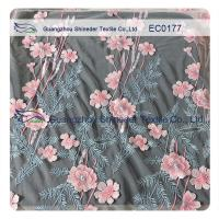 China Embroidered Polyester Lace Fabric For Hot Summer Clothing High Fashion Floral on sale