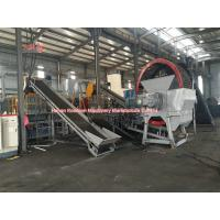 Best Low Noise Waste Rubber Recycling Machine , Full Auto Tyre Processing Plant wholesale