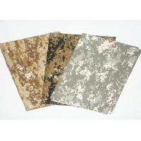 China Camouflage Print Fabric Fire Retardant Antistatic For Military Uniform on sale