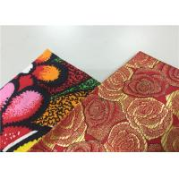Best Popular Floral Print Traditional Malaysian Batik Fabric 100% Pure Cotton Wax Cloth wholesale