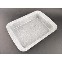 Best Non-stick grey Marble Coating Square Cake Pan for bakeware wholesale
