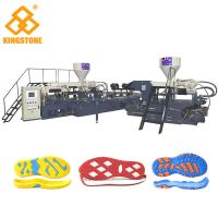 Cheap Plastic / Canvas Shoe Sole Making Machine 10 / 12 Stations with 2 Years Gurantee for sale