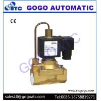 Quality Pilot Diaphragm Type Pneumatic Solenoid Valve with 5 Mpa High Pressure , DC 12V - 24V wholesale