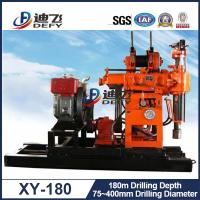 Best hot product 180m Water Well Drilling Rig XY-180 Cheap Price for Sale wholesale