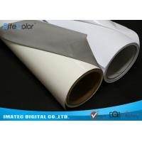 Best Aqueous Inkjet Media Supplies Grey Base Waterproof Self - Adhesive Matte PVC Vinyl roll wholesale
