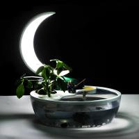 Best Chinese style moon lights for reading book with fish tank wholesale