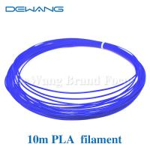 Best Blue Color 10m 1.75mm Blue PLA Filament for 3D printing pen wholesale