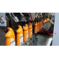 HDPE Harpic bottle blowing machine in 4 head extrusion blow molding machine