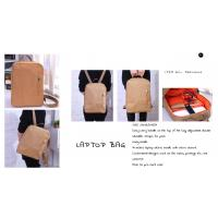 ECO-Friendly washable kraft paper 14 inches laptop bag