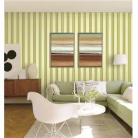 70cm width fireproof waterproof mould proof stripe styles PVC vinyl wallpaper