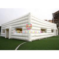 Best Durable Outdoor Inflatable Tent / Cube Inflatable Camping Tents 20M X 15M wholesale