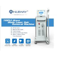 China Nubway professional best painless high technology 808 soprano diode laser hair removal beauty Machine with big spot on sale