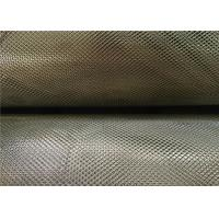 Best 3 X 5 Mm Zinc Coated Steel Expanded Metal Mesh 0.4Mm Thickness 18Kg Per Roll wholesale