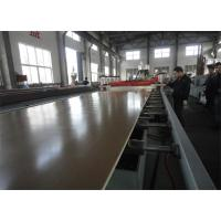 Best Water Proof  PVC Foam Board Extrusion Line For Producing Fence / Railing Plastic Extrusion Lines wholesale