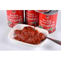 Best ISO Certification Canned Tomato Paste With High Temperature Sterilization wholesale