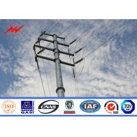 Best High Voltage Utility Power Poles Electrical Distribution Line Steel Utility Pole wholesale