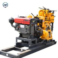 Best 380V Water Well Drilling Rig With Diesel Engine  ,  Drlling Depth 230m wholesale