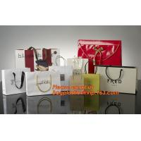 Best High Quality And Fancy Customized Black Printed Luxury Gift Paper Shopping Bag wholesale
