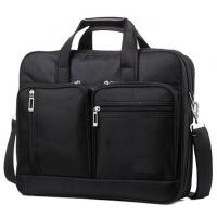 Buy cheap Black Color Men Laptop Messenger Bags Oxford Material Custom Color With Logo from wholesalers