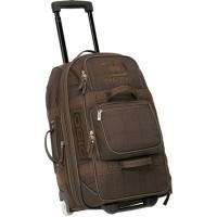 details of wheeled luggage bags brown travelling bags soft. Black Bedroom Furniture Sets. Home Design Ideas