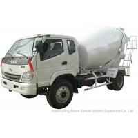 Best T. King Chassis Concrete Mixer Truck 2 CBM , Ready Mix Cement Trucks wholesale