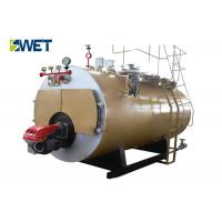 China 10 Ton Energy Efficient Industrial Gas Fired Steam Boilers20 ℃ Feed Water Temperature on sale