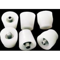 Best Flexible White Silicone Rubber Stoppers One Hole Texture Surface Finishing wholesale