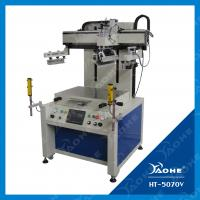 China stable quality flatbed screen printing machine on sale