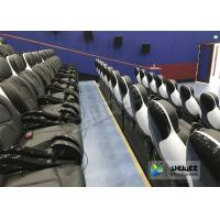 Best Exciting 5D Cinema Equipment , 5D Luxury Motion Seats With Vibration Effect In Mall wholesale