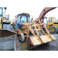 Best A/C Cabin Used Backhoe Loader , CASE 580L Backhoe Loader Direct Fuel Injection wholesale