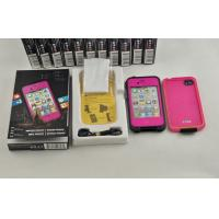 Best Pink Rose PC Waterproof Cell Phone Case Lifeproof For Iphone 4 / 4s wholesale