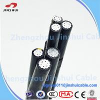 Cheap Low Voltage XLPE Insulated Service Drop Cable Duplex Bull Messenger Wire for sale