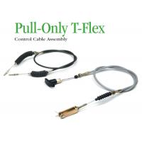 Best High Tensile Industrial Control Cables , Pull - Only T - Flex Control Cable Assembly wholesale