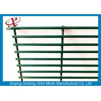 Best Dark Green Custom Security Fence , Residential Security Fencing Eco Friendly wholesale