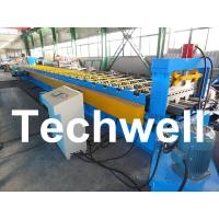 Best PLC Control System Steel Deck Roll Forming Machine With 24 Forming Stations wholesale