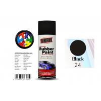 Buy cheap Head Light Black Color Rubber Coat Spray Paint For Wheel Brushing APK-8201-24 from wholesalers