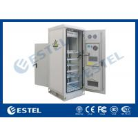 Best Temperature Control Custom Made Antitheft Outdoor Telecom Cabinet With Front Door And Back Door wholesale