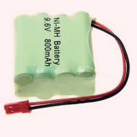 China nimh aaa 9.6v 800mah rechargeable battery pack on sale