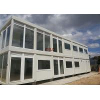 Best 20ft Steel Frame Mobile Container House Prefab Movable For Hotel Labor Camp wholesale
