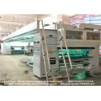 China Double Layer Automatic Lamination Machine Aluminum Foil Dry Type 130 M/Min Speed on sale