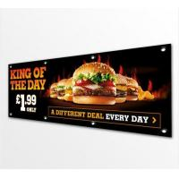 Best Double Sided Pvc Vinyl Banners And Flags Outdoors / Indoor Solvent Printing wholesale