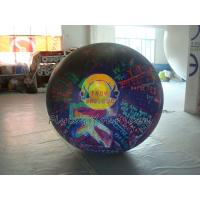 Best Reusable durable Big PVC helium balloon with total digital printing for advertising wholesale